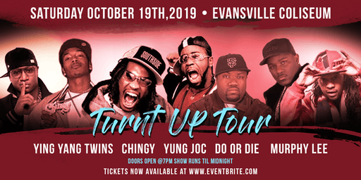 Ying Yang Twins, Chingy, Yung Joc at Evansville Coliseum
