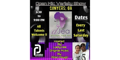 Art Out Loud ATL: Open Mic Variety Show-Conyers tickets