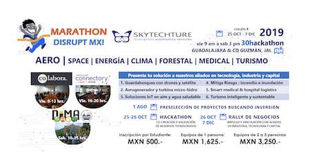 SkyTech 30Hackathon : AERO space energía clima forestal medical turismo entradas