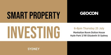Smart Property Investing - Sydney Event tickets