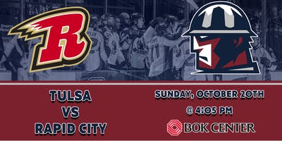 Rapid City Rush at Tulsa Oilers | Skate with Players
