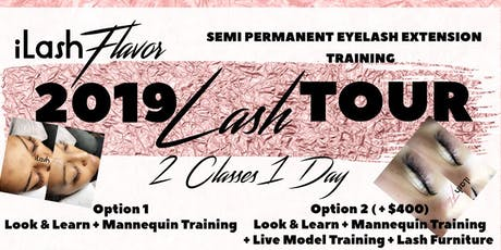 iLash Flavor Eyelash Extension Training Seminar - Jacksonville tickets