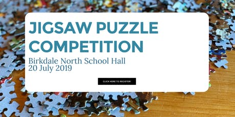 JIGSAW PUZZLE COMPETITION tickets