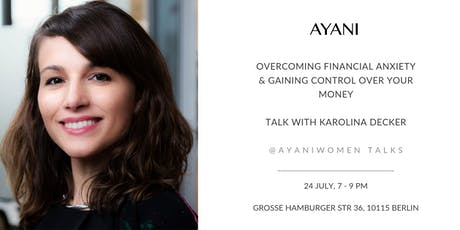 Talk: Overcoming Financial Anxiety with Karolina Decker tickets