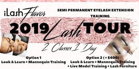 iLash Flavor Eyelash Extension Training Seminar - SAVANNAH tickets