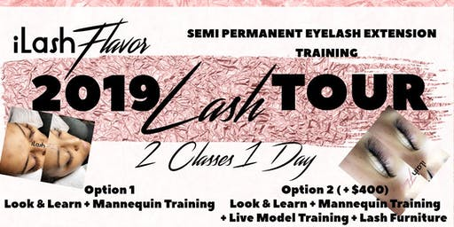 iLash Flavor Eyelash Extension Training Seminar - SAVANNAH