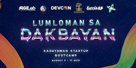 Kadayawan Startup Bootcamp - Lumloman sa Dakbayan tickets
