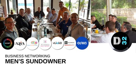 District32 Men's Business Networking Sundowner - Fri 26th July tickets
