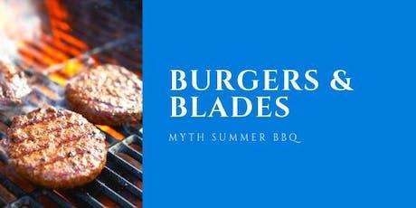 Burgers & Blades tickets