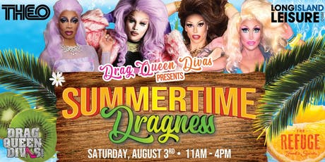 "Drag Queen Divas Brunch Presents ""Summertime Dragness""  tickets"