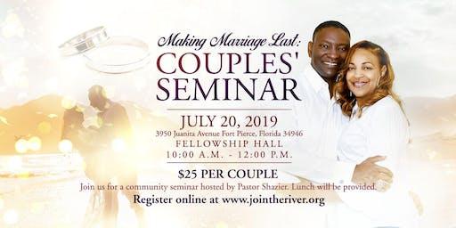Community Couples Seminar