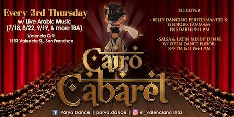 Cairo Cabaret tickets