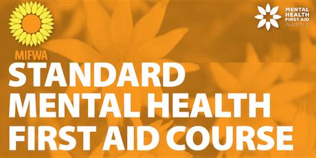 Standard Mental Health first Aid - Midland tickets