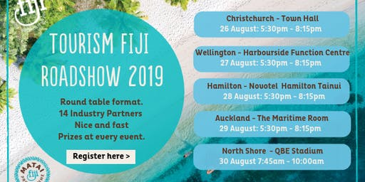 Tourism Fiji Roadshow 2019