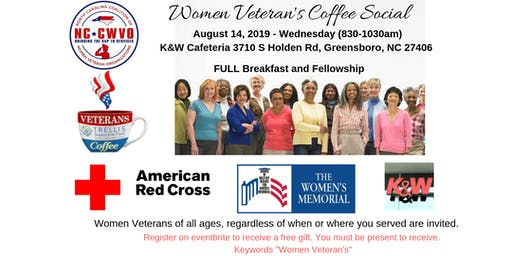 Women Veteran's Coffee Social