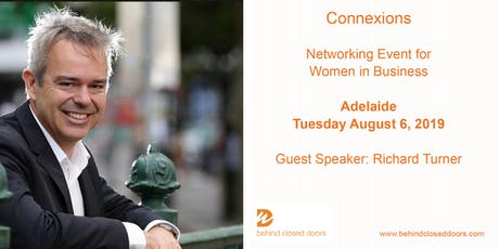 Adelaide Connexions with Richard Turner - Networking Event for Women tickets