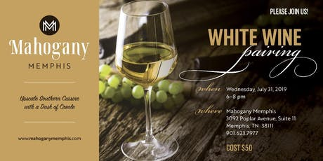 White Wine Pairing- Wednesday July 31st, 2019 tickets