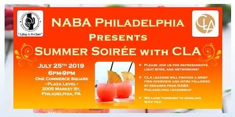 NABA Philadelphia Presents: Summer Soirée with CLA tickets