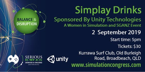 Simplay Drinks - Sponsored By Unity Technologies