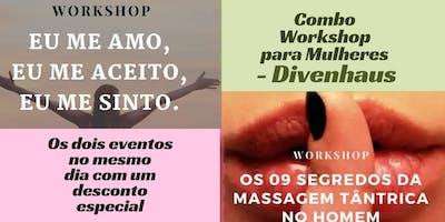 Combo Workshop para Mulheres - Divenhaus
