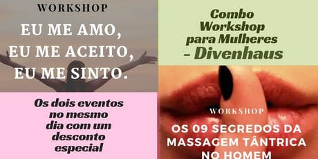 Combo Workshop para Mulheres - Divenhaus ingressos
