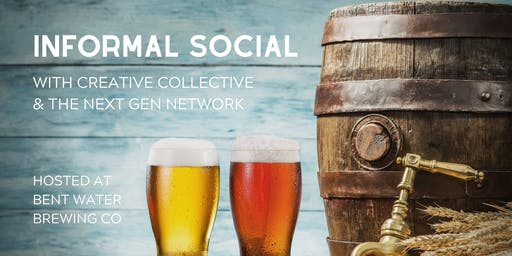 inFormal - a social happening at Bent Water Brewing