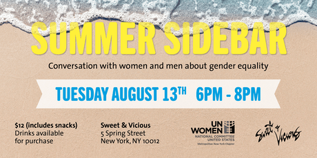 Summer Sidebar: Mingle for Gender Equality tickets