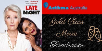 Gold Class Movie Fundraising for Asthma Australia