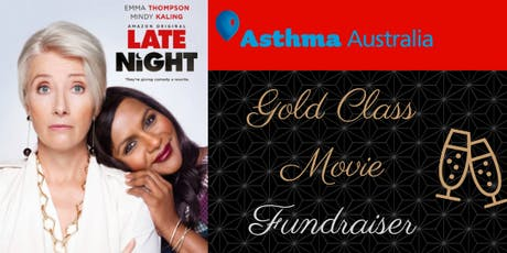 Gold Class Movie Fundraising for Asthma Australia tickets