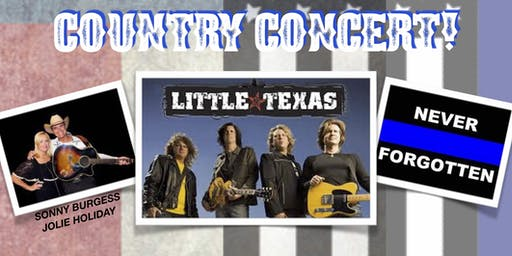 Boots For Badges Free Country Concert With Little Texas!