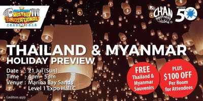 Thailand & Myanmar Holiday Preview