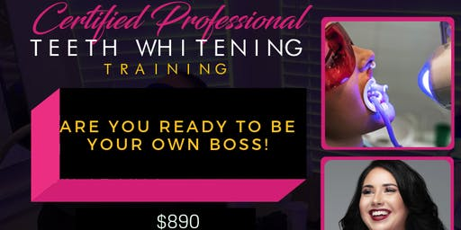 Cosmetic Teeth Whitening Training