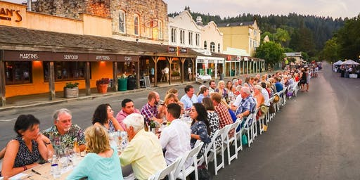 Calistoga Harvest Table 2019 - Sam's Social Club