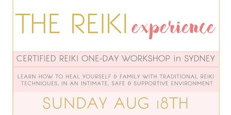 The Reiki Experience -  Certified Reiki one day workshop in Sydney tickets