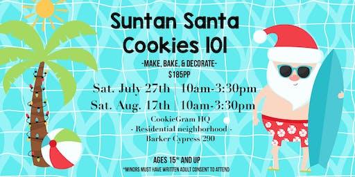 Suntan Santa - Cookies 101