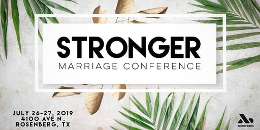 Stronger Marriage Conference