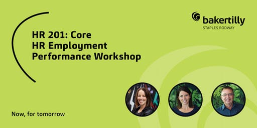 HR 201: Core HR Employment Performance Workshop - Taranaki