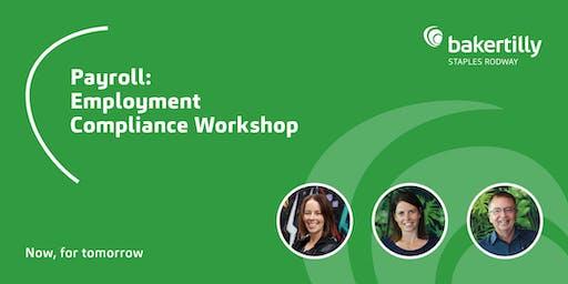 Payroll: Employment Compliance Workshop - Taranaki