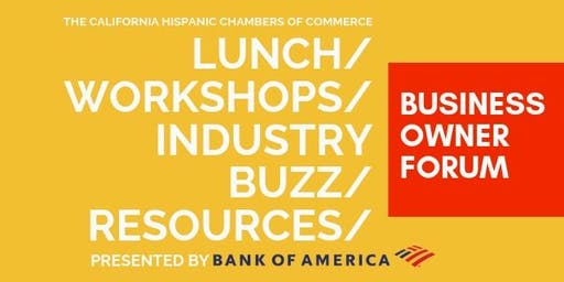 Business Owner Forum | Los Angeles, CA