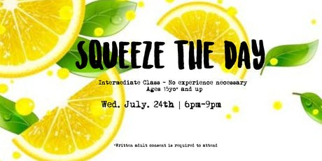 Squeeze the Day! - Intermediate Class tickets