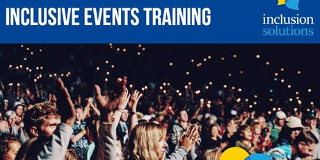 INCLUSIVE EVENTS TRAINING tickets