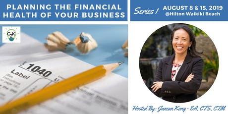 G2K Summer Series 1 - Planning the Financial Health of Your Business tickets