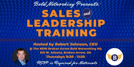 Sales & Leadership Growth Hacking presented by Bold Networking tickets