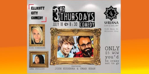 3rd Thursdays Comedy