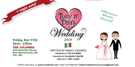 Tony 'n Tina's Wedding tickets