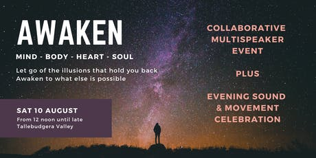 AWAKEN - Mind Body Heart Soul tickets