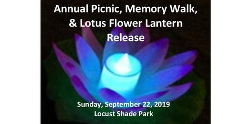 Annual Picnic, Memory Walk and Lotus Flower Lantern Release