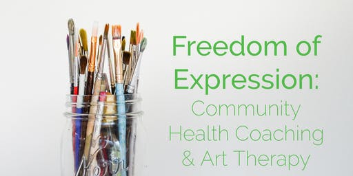 Freedom of Expression: Group Health Coaching & Art Therapy Session