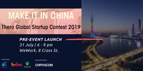 'Make It In China' Startup Contest - SG Pre Event Launch tickets