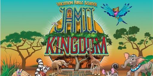 Vacation Bible School:   JAMII KINGDOM